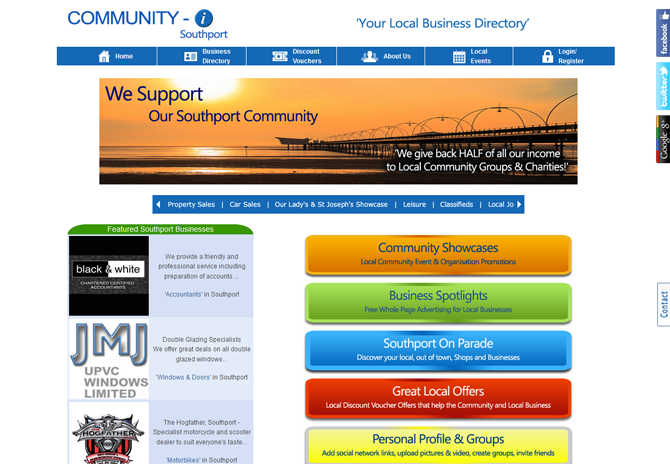 New local Southport Business and Community Directory